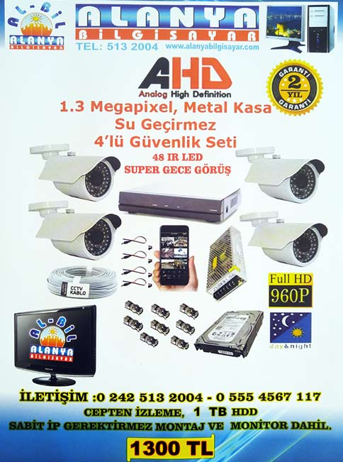 alanya kamera set